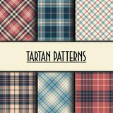 Set of seamless tartan patterns - 212650340