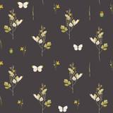 Watercolor floral vector pattern - 212650790