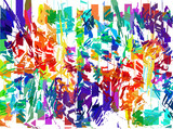 Grunge art color painting background. - 212658950