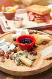 Cheese plate in restaurant - 212659574