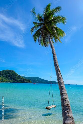 Fotobehang Tropical strand A beach in thailand