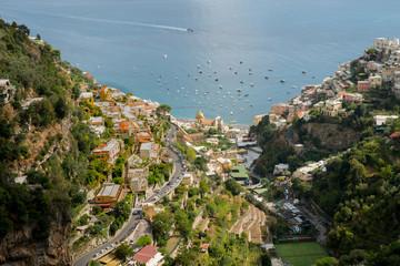 Positano on the Amalfi coast © John