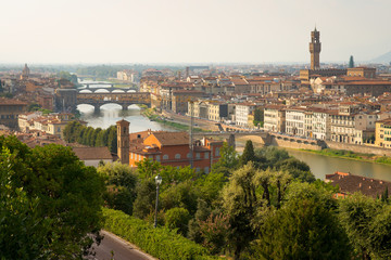 Florence and the Arno river © John