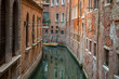 Back canal in Venice, Italy