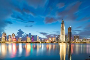 Shenzhen city night scene © 维权 林