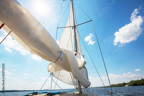 Fotobehang Galyna A. Yacht