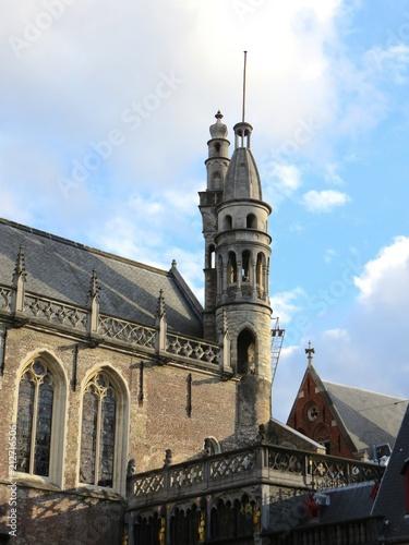 Foto Spatwand Brugge Bruges