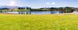 Leinwanddruck Bild - Frühling im Allgäu bei Füssen