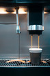 coffee brewing process with automatic machine;