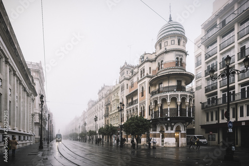 Foto Murales Sevilla Niebla