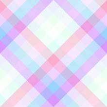 Seamless Geometric Pattern Diagonal Colorful Stripes Modern Colors In Pastel Colors Sticker