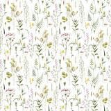 Watercolor floral vector pattern - 212772540