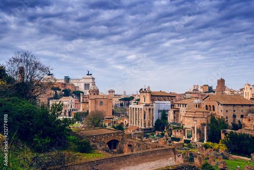 Foto Murales Rome at night, 夜はローマ, 로마 밤