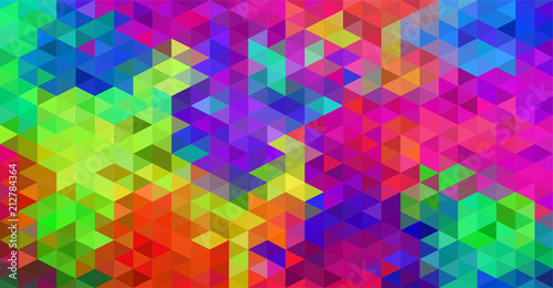 vibrant vector color block pattern polygon style  abstract background © quietword