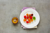 Ingredients for tomato salad - 212794191