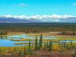 Scenic Autumn Landscape on the Denali Highway, Alaska