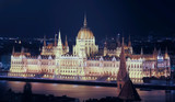Night view of Parliament of Budapest - 212806558