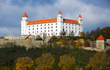 Historical Castle of Bratislava on the hill
