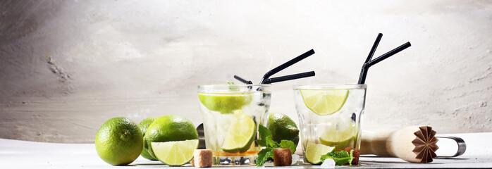 Lemon Fruit Lime Caipirinha of Brazil © beats_