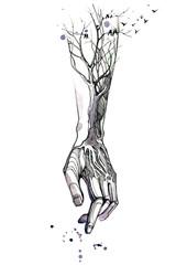 hand © okalinichenko