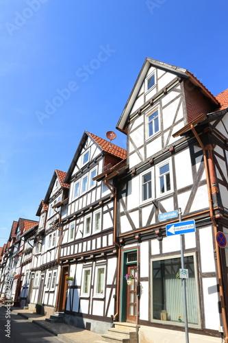 Foto Murales Fachwerkzeile in Bad Sooden-Allendorf