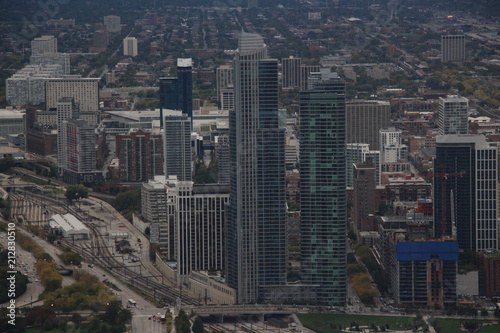 Fotobehang Chicago City Titans