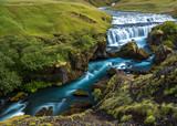 Glacial River and Canyon