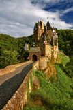 Eltz castle in Germany famous tourist place, near the town of Eifel region of Rhineland Palatinate. The photo was created 18 06 2018 - 212854313