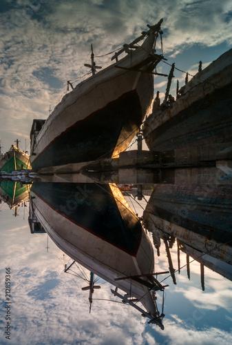 In de dag Schip Harbor