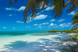 beach and tropical sea - 212863909