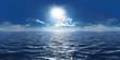Quadro Meer, Sonne und wenig Wolken 360° Panorama