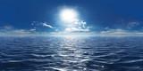 Meer, Sonne und wenig Wolken 360° Panorama - 212881764
