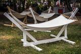 garden hammock in the Park or recreation area - 212884740