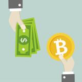 Hands Bitcoin Exchange - 212891166