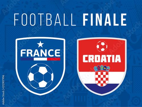 FOOTBALL FINALE France - Croatie