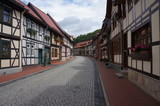 Historical center of Stolberg, a town and former municipality in the district of Mansfeld-Südharz, in the German State of Saxony-Anhalt, Germany