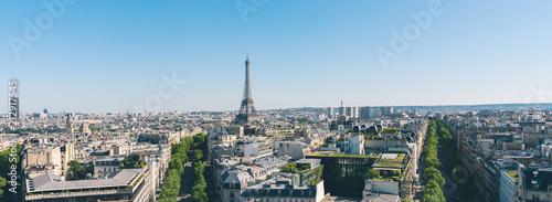 View on Eiffel Tower, Paris, France - 212917545