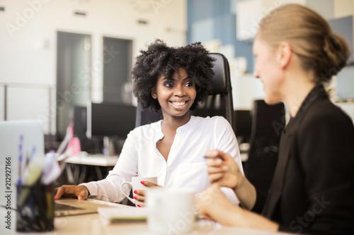 Multi ethnic colleagues