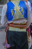Detail of Turkish folk costume for man - 212929125