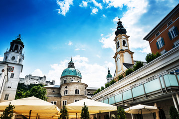 Salzburg Cathedral is the seventeenth-century Baroque cathedral of the Roman Catholic Archdiocese © ilolab