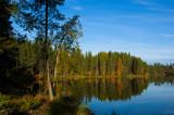 Herbst an einem See in Schweden - 212932749