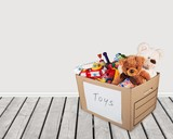 Box Full of Toys and Bears - 212942113