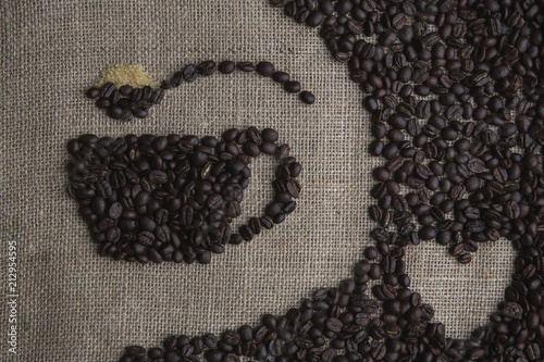 Aluminium Koffiebonen Coffee Love