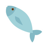 fresh fish meat icon vector illustration design - 212963345
