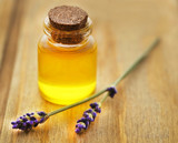 Lavender oil with flower - 213000349