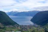 Vikoyri (Norwegian: Vikøyri), administrative center of the municipality of Vik in Sogn og Fjordane county, Norway.