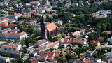 Pasewalk, Zentrum mit St. Marien-Kirche