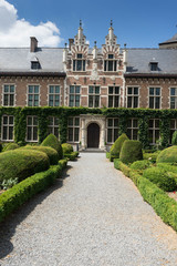 Gaasbeek Castle in Flanders, seen in a day trip from Brussels, Belgium