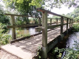 Bridge over the River Chess at Rickmansworth, Hertfordshire, UK