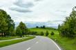 eine Straße in den Bergen